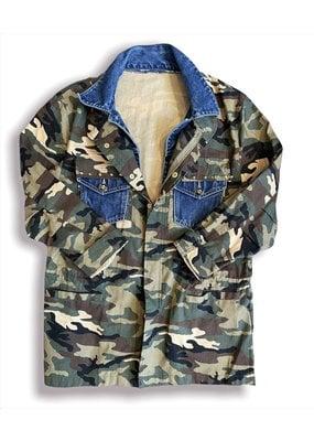 ThreadBare ThreadBare CampCamo Fall21 Army Jacket