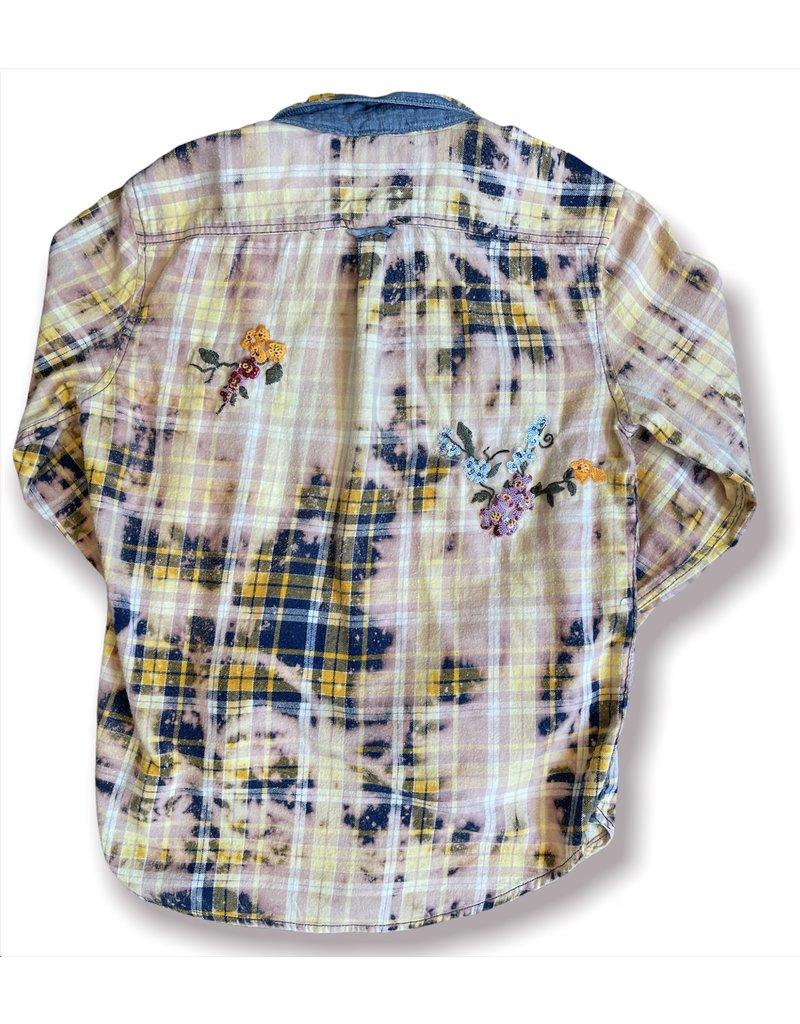 ThreadBare ThreadBare KaBloom Fall21 Flannel