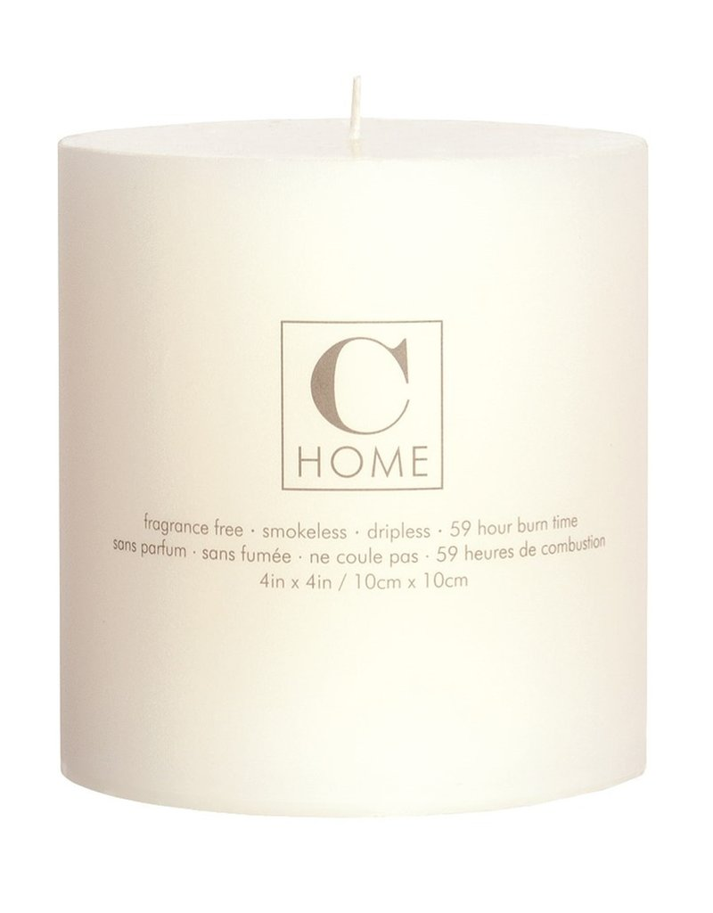 4x4 Pillar Candle Ivory