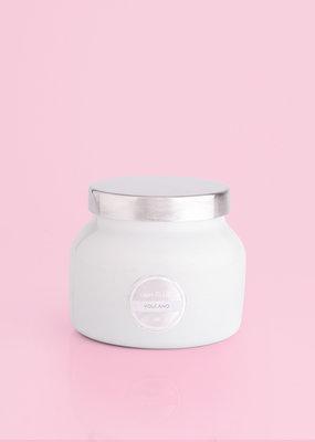 Volcano White Petite Signature Jar Candle