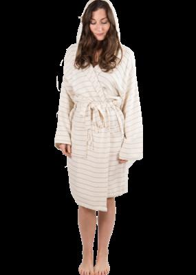 Pokoloko Bamboo Turkish Robe - Cream M/L