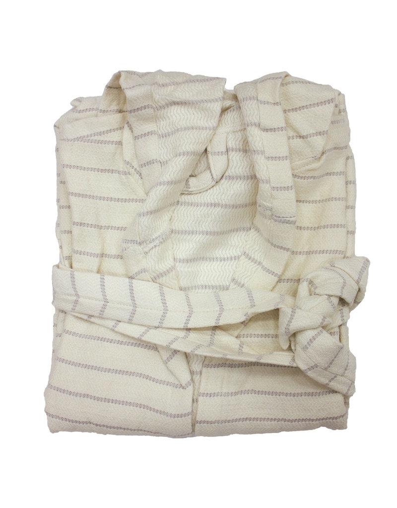 Bamboo Turkish Robe - Cream M/L