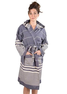 Harem Turkish Robe Navy M/L