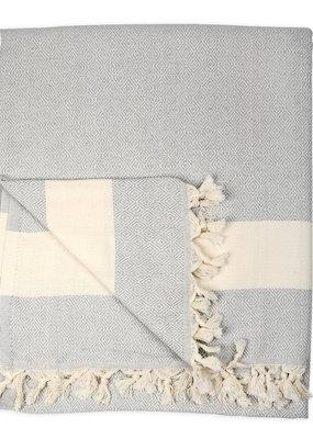 Diamond Turkish Blanket - Mist