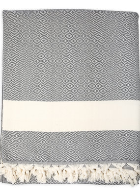 Diamond Turkish Blanket - Slate
