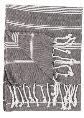 Sultan Turkish Hand Towel - Black
