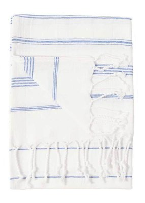 Sultan Turkish Hand Towel - White