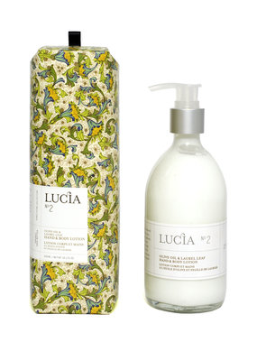 LUCIA Hand and Body Lotion Olive Blossom