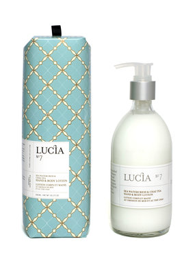 Lucia Hand and Body Lotion Watercress & Chai Tea