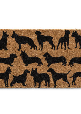 Doormat With Dog Silhouette