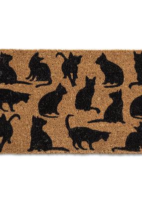 Doormat With Cat Silhouette