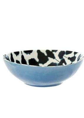 Shibori Bowl Dark Blue MED