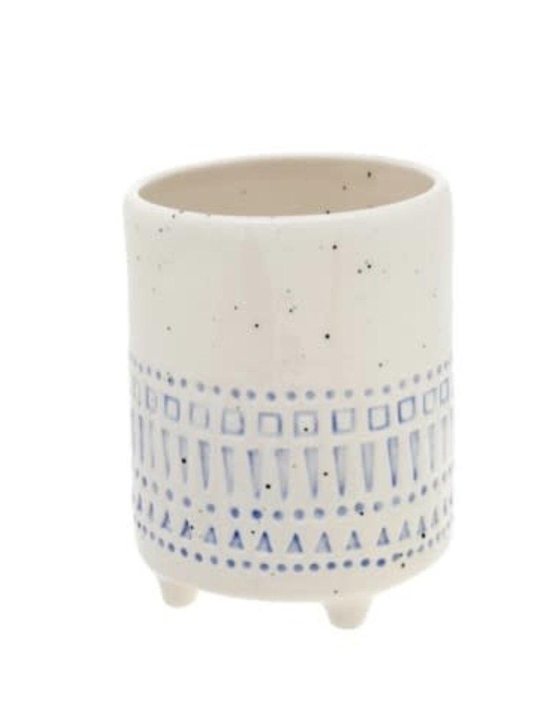 1-6587 Florentine Pot Aqua