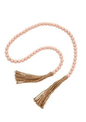Tassel Prayer Beads Pink