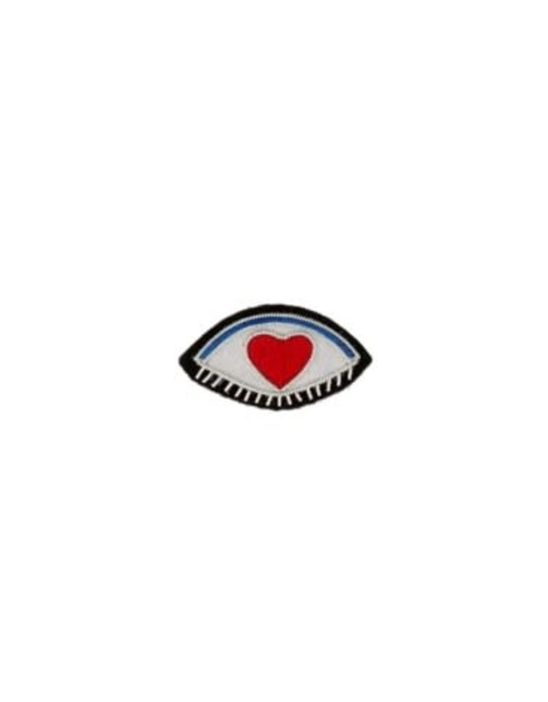 Patch Pin Eye Love You