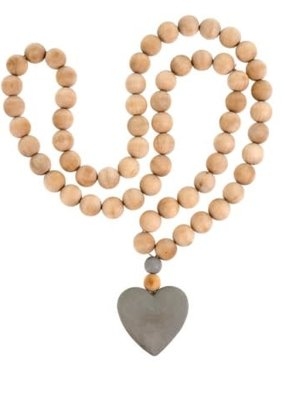 Heart Prayer Beads Large