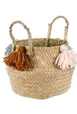 Baby Belly Basket, Tassel
