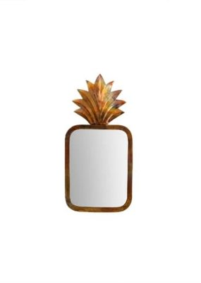 Pineapple Mirror Small
