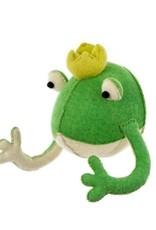 Prince Frog Felt Bust