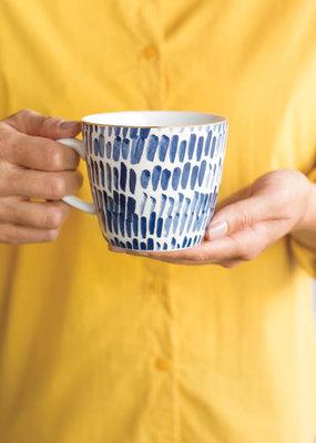 Mug Stamped Shibori Dash