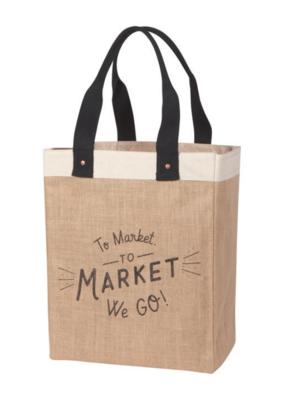 Market Tote To Market We Go