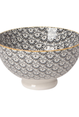Stamped Dotted Scallop Bowl