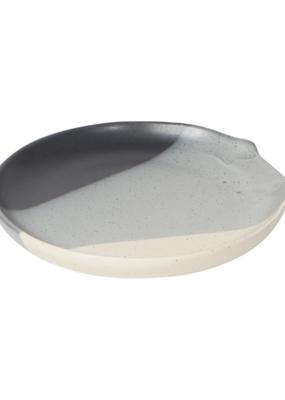 Spoon Rest With Reactive Glaze, Shadow