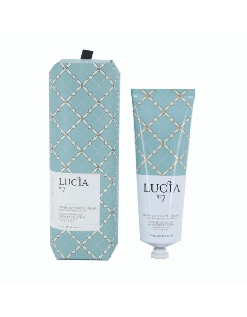 LUCIA Hand Cream Sea Watercress and Chai Tea