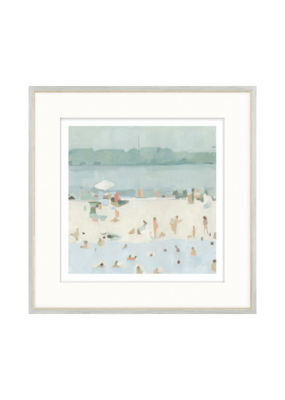 Seaglass Sandbar Print by Emma Scarvey