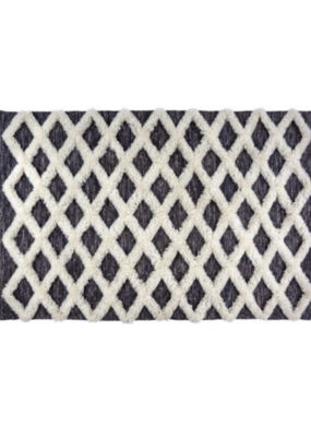 Grey Souk Wool/Cotton Rug 5x7