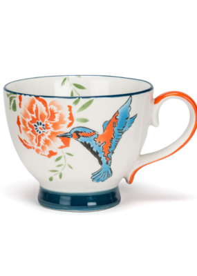 Hummingbird Handled 10oz Cup