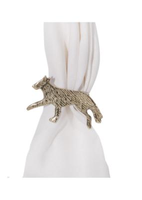 Gold Fox  Napkin Ring