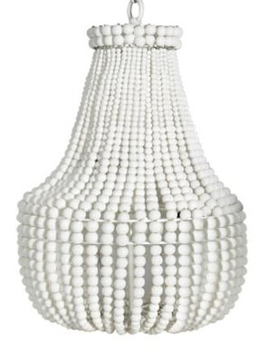Beaded Pendant Light