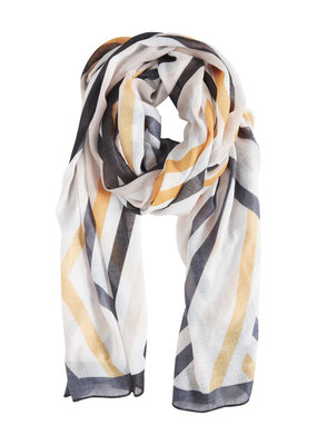 b.young BY Striped Scarf