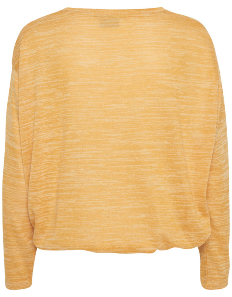 """b.young b.young """"Rikka Blouse"""" in Golden Glow"""