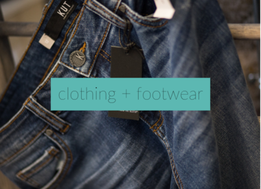 Clothing + Footwear
