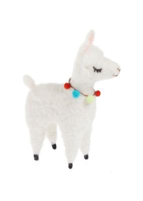 Felt Llama Decor