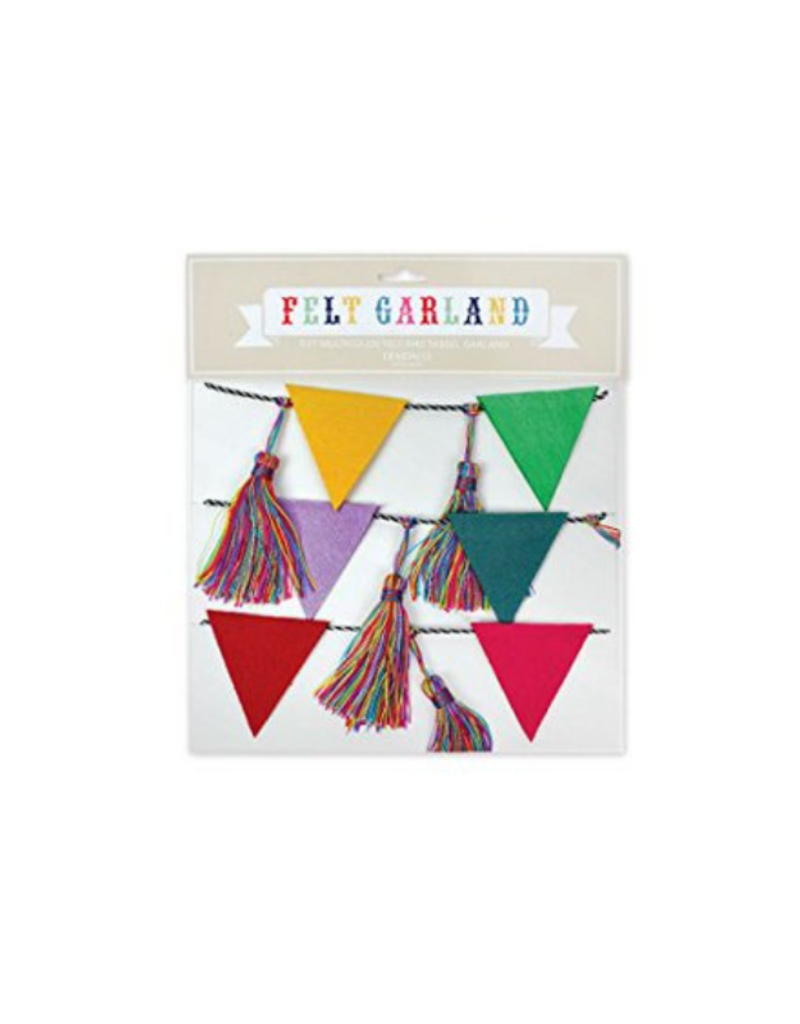 Flags and Tassels Garland