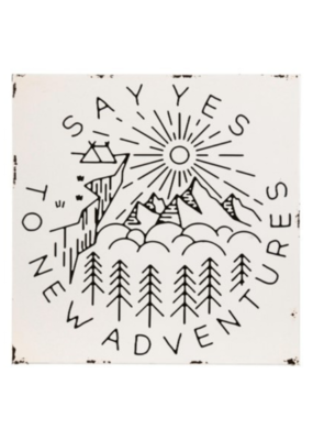 Enamel Wall Art - New Adventure