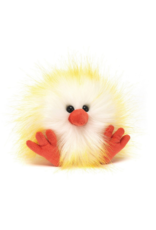 Jellycat Crazy Chick Yellow & White