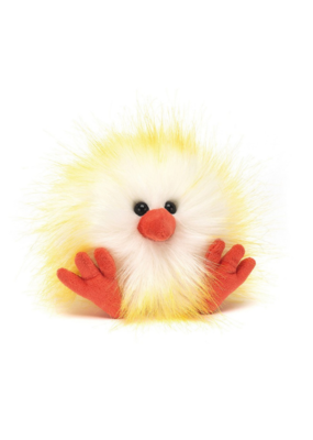 Jellycat Jellycat Crazy Chick Yellow & White