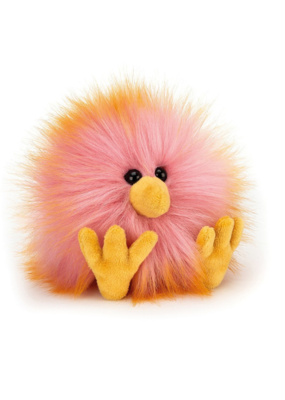 Jellycat Jellycat Crazy Chick Yellow & Pink
