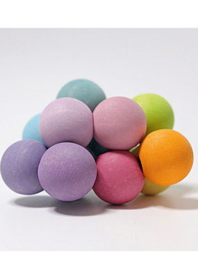 Grimm's Grimm's Grasping Bead Toy Pastel