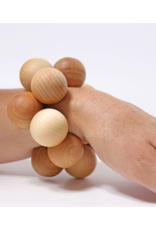 Grimm's Grimm's Grasping Bead Toy Natural
