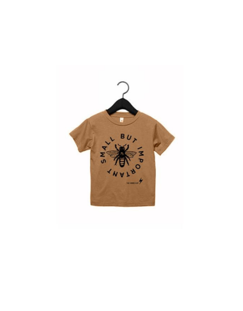 The Good Kid Clothing Co. Small But Important Tee, Brown
