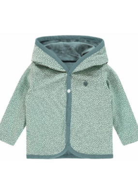 noppies Noppies Reversible Cardigan Grey & Mint