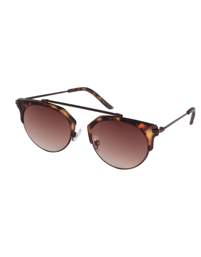 PILGRIM Pilgrim Sunglasses Lotus Brown