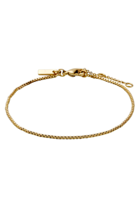 PILGRIM Classic Gold-Plated Chain Bracelet by Pilgrim