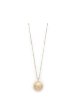 PILGRIM Globe Necklace Gold-Plated Berta by Pilgrim