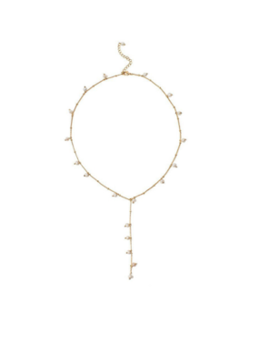 Lover's Tempo LT Dot Pearl Lariat, Pearl